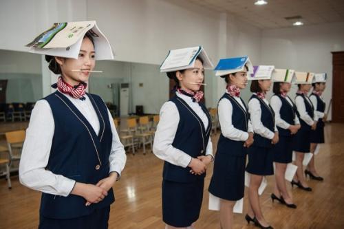 长沙铁航职业中等技术学校航空乘务专业